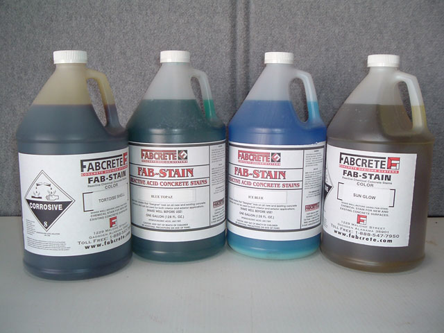 FAB-STAIN gallons